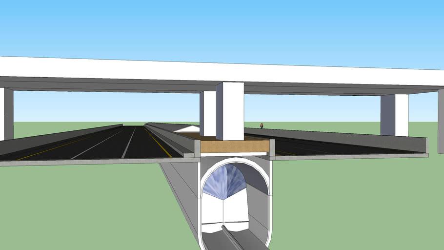 maglev tunnel