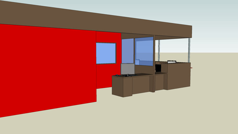 Banque D Accueil 3d Warehouse