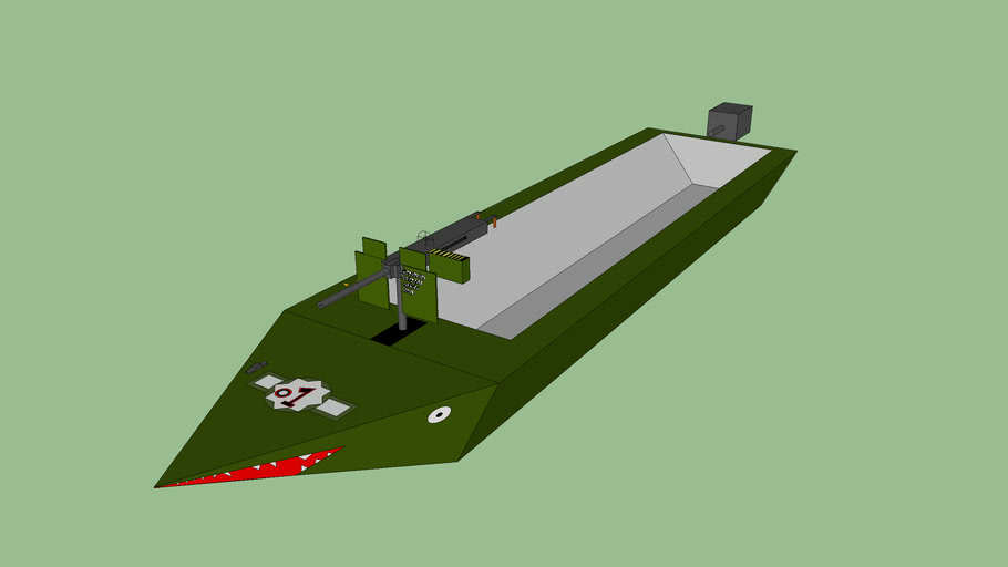 3d gun boat  veitnam era