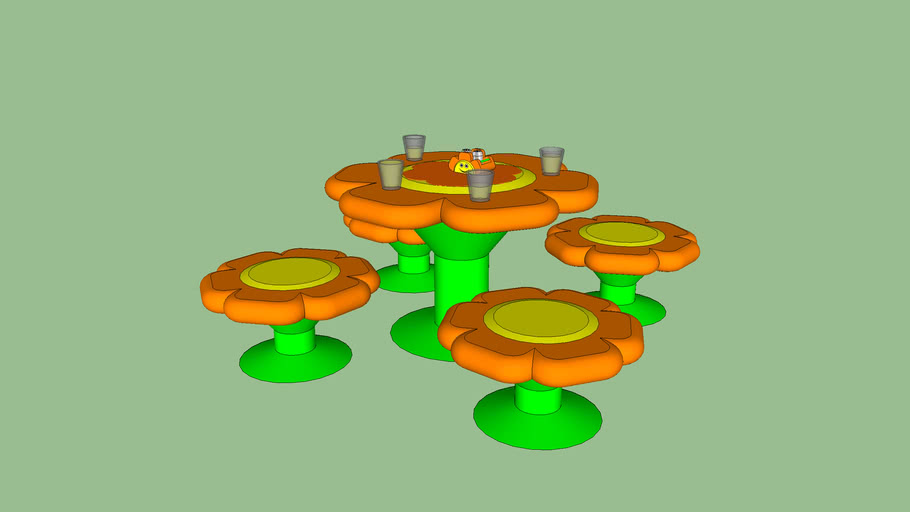 Flower Power Table