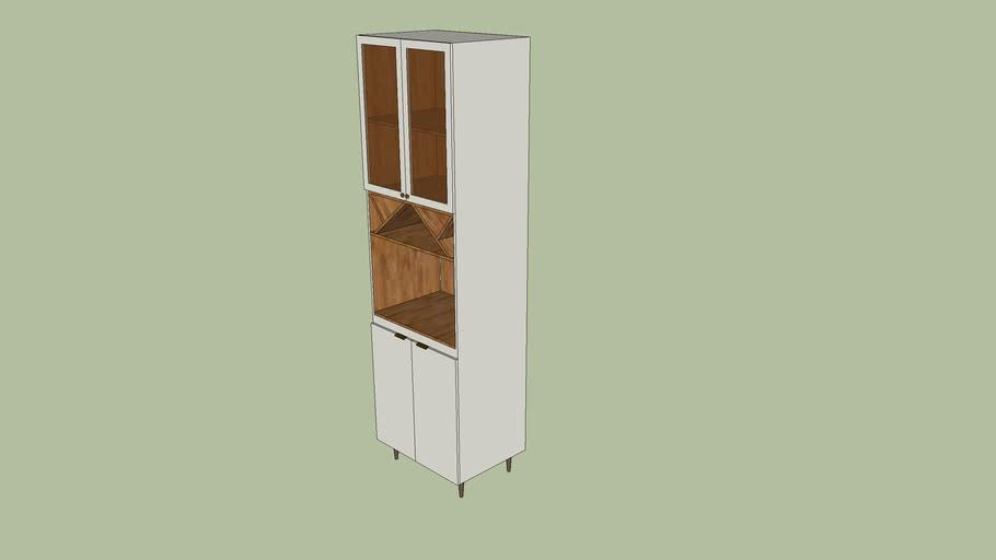 Cozinha Henn - Essência - Torre Quente 01 Forno 2305x700x510
