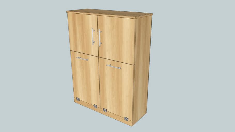 Recycle Bin Trash Cabinet