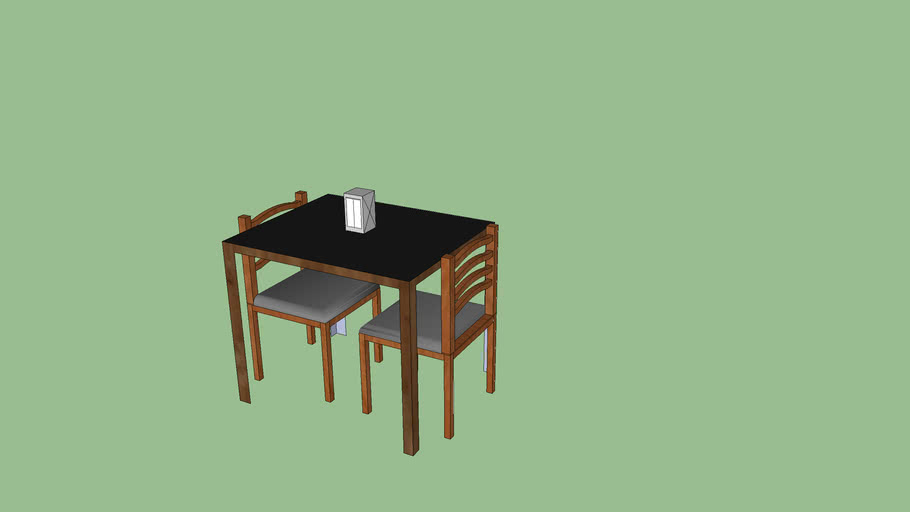 table and chairs for 2 ppl