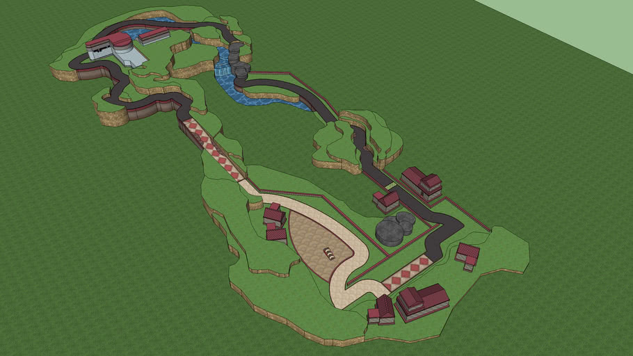 Mario Kart Wii Weegee Circuit 3d Warehouse