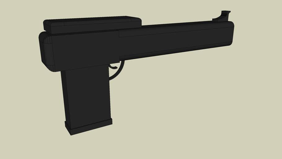 Macaltine semi-automatic pistol