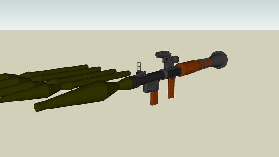 RPG-rocket luncher,  Factorblack ™