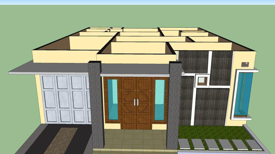 Rumah Minimalis 9,5 X 12 | 3D Warehouse