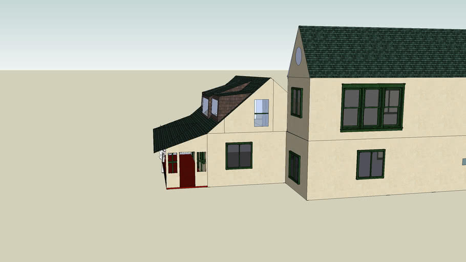 house with addition