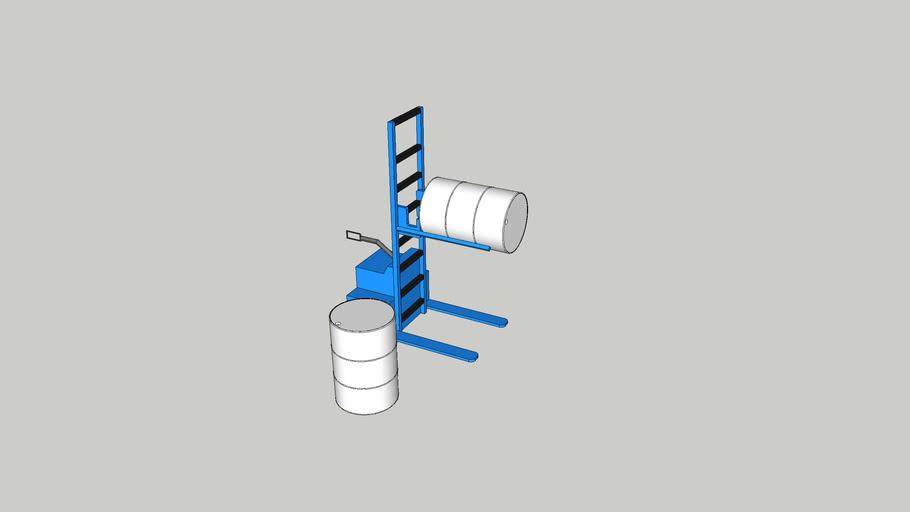 Cargador Manual y Tonel - walkie stacker Barrel