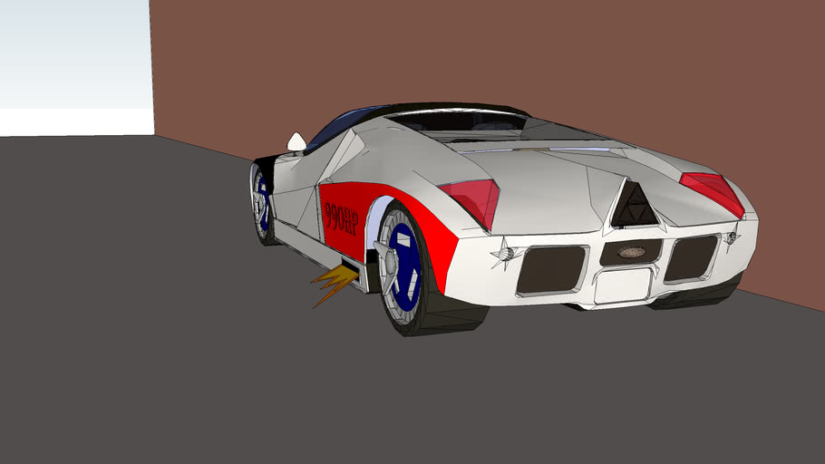 Cool car ultimate modified car-Ford GT90 990HP!!!