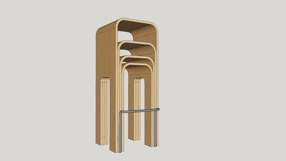 Banqueta_wood curve