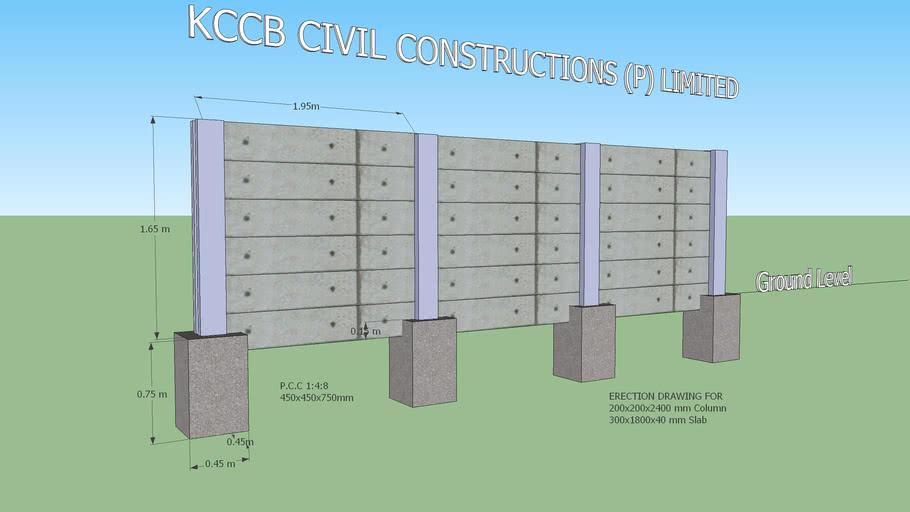 Precast Comopund Wall