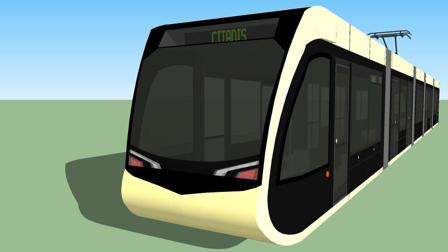 Tramway Citadis Immaginaire