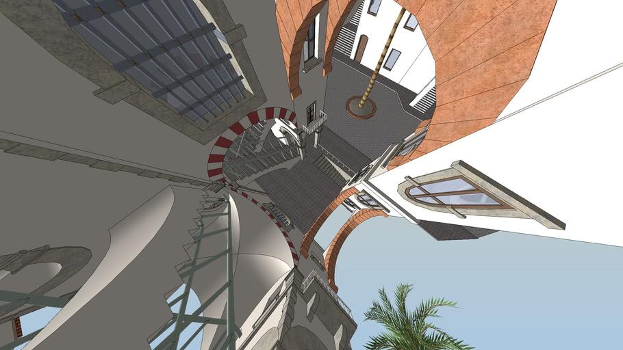Escher-Up and down