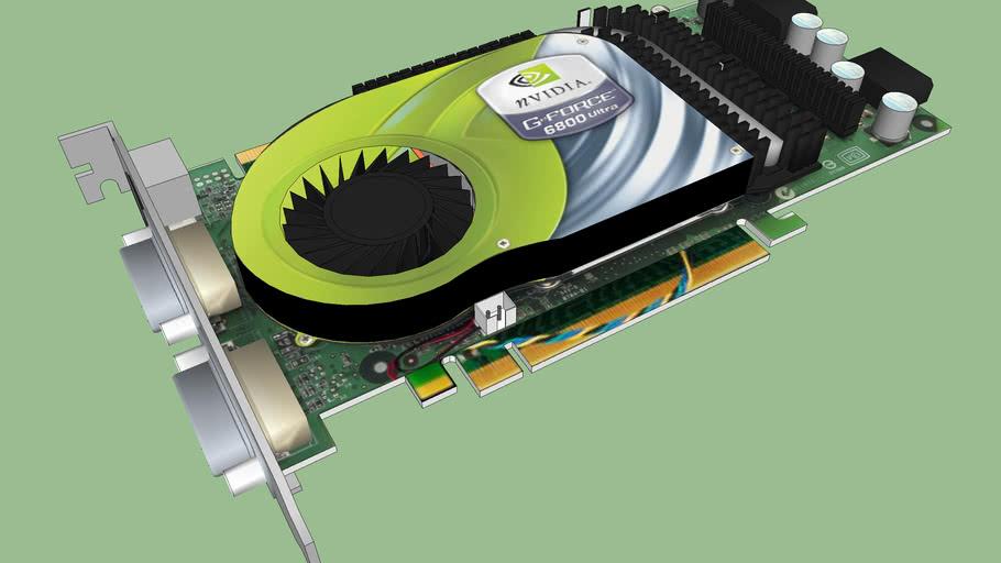 Nvidia 6800 Ultra Pcie W SLI