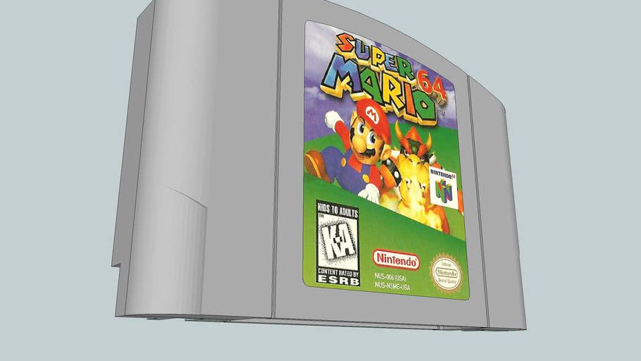 Mario 64 cartuccie
