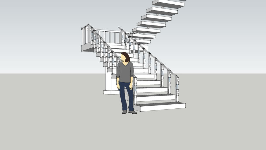 Sample staircase Philippine series,