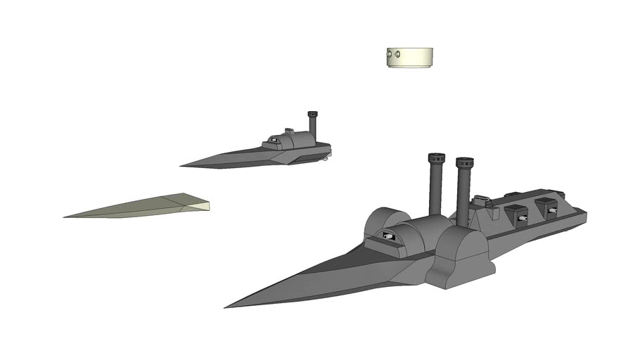 Gunship and Gunboat