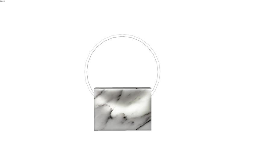 Sabine Marcelis Voie Small White Marble