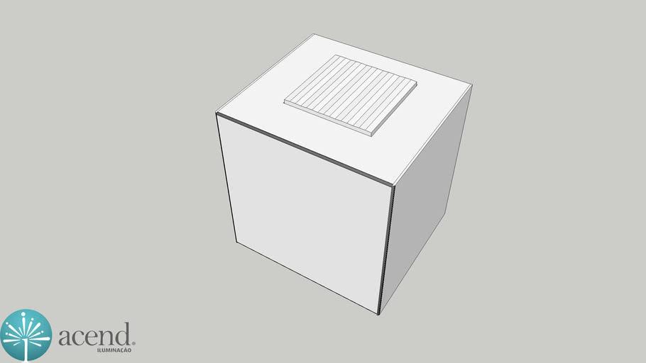 AR LIZ LED 110X110X101MM