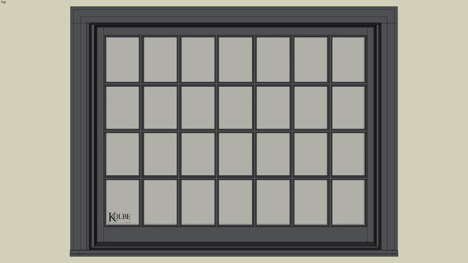 "Kolbe Ultra Sterling Double Hung Studio UDHS50310 (F.S. 5'-1 1/2"" x 4'-0 7/16"" R.O. 5'-2"" x 4'-1"")"