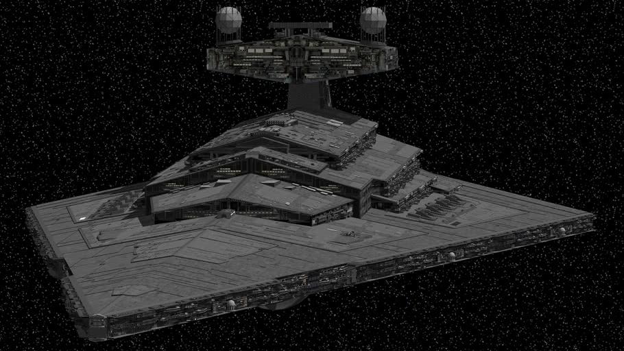 Star Wars - Imperial II-class Star Destroyer