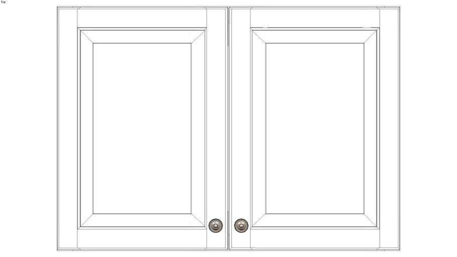 Wall Double Door 24H