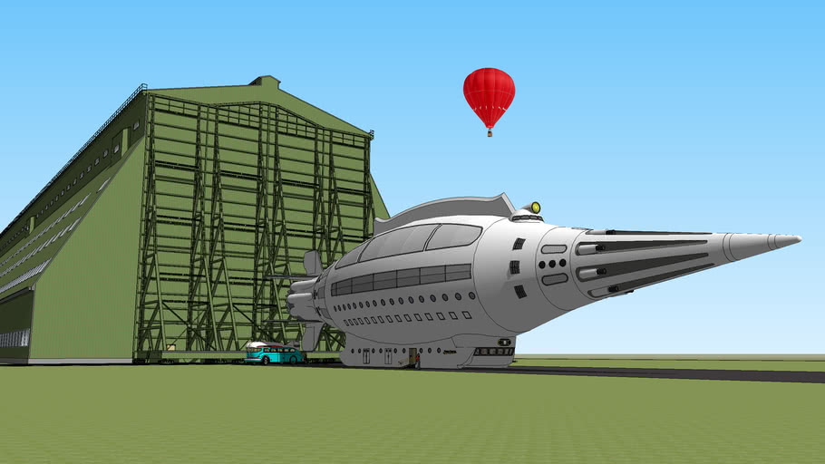 Mongo Express Space Liner at Cardington Airfield, Bedfordshire