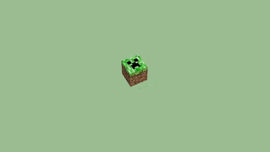 Minecraft Creeper Block