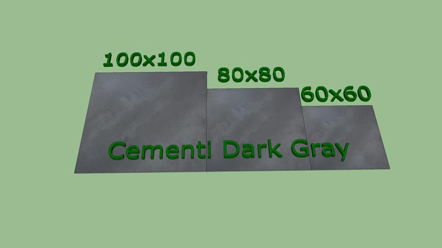 Piso Porcelanato DOKE Cementi Manhattan Gray 100x100 / 80x80  / 60x60