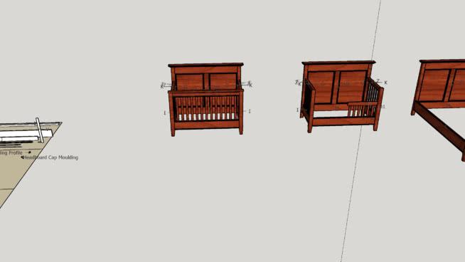 Modified Wood Magazine Convertible Crib Plans 3d Warehouse