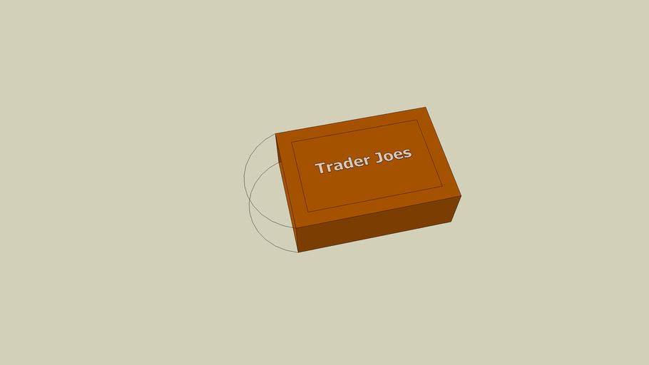 Trader joes shopping bag