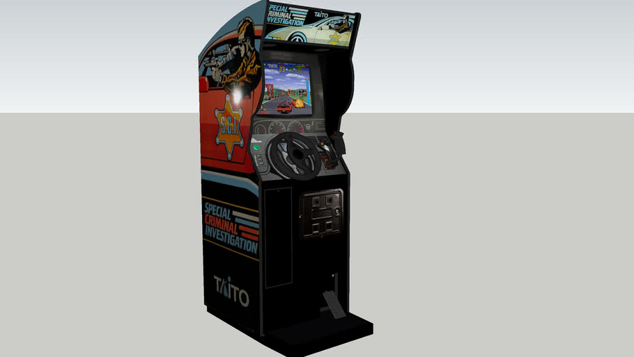 Special Criminal Investigation arcade game
