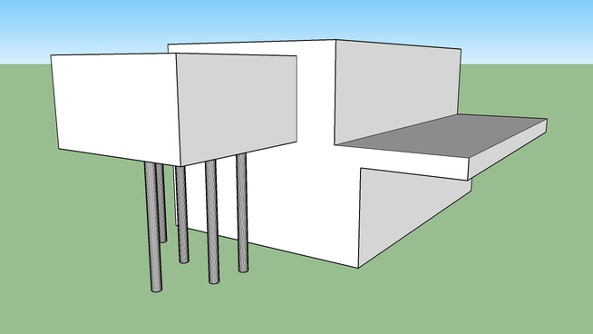 Casa moderna, primer modelo