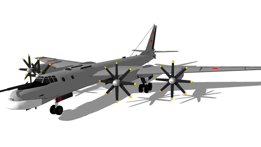 "Aircraft - Tupolev Tu-95MS ""Bear-H"""