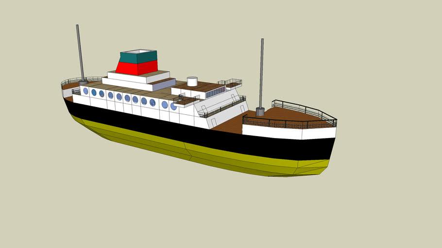 traghetto passegeri - passengr ferryboat