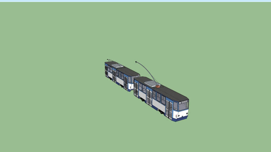 TATRA T6B5 for Riga