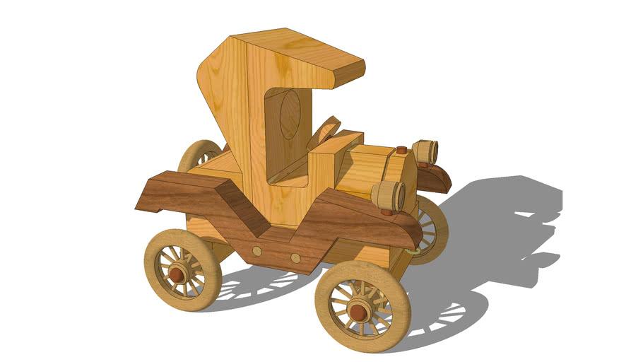 Toy Model-T Car