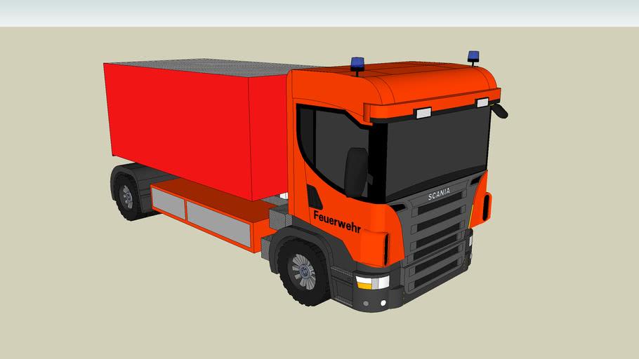 WLF Feuerwehr/swap body truck fire department