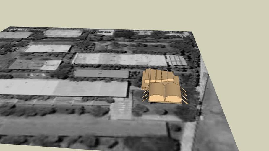 auditorio y biblioteca de ingenieria
