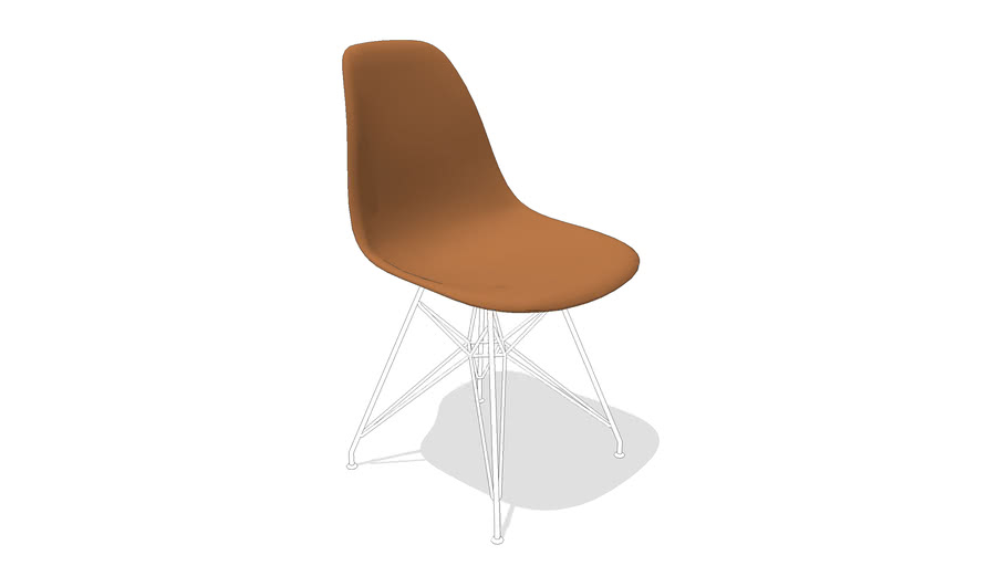 Cadeira Eames Wood Side Chair