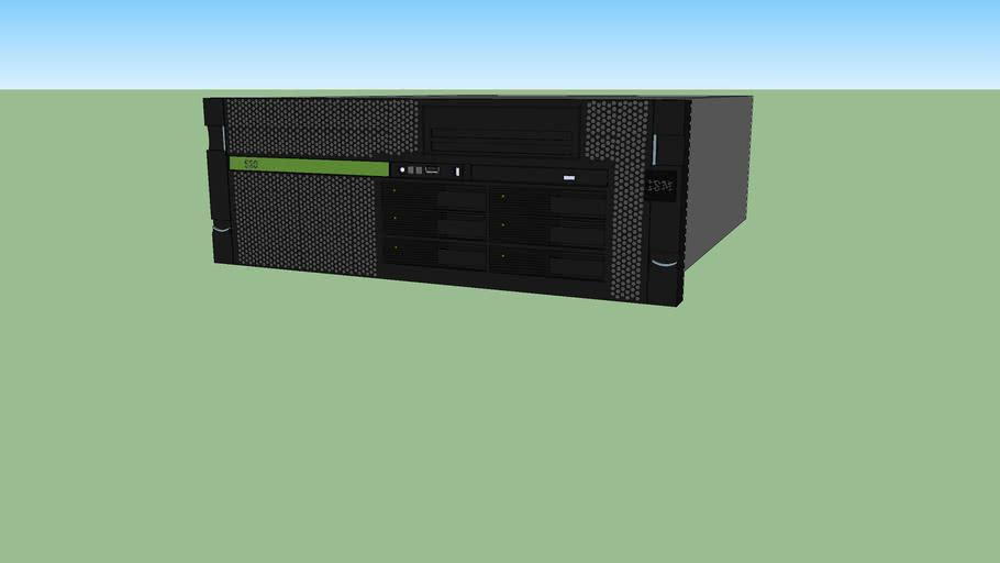 IBM  System p 520 rack mount server