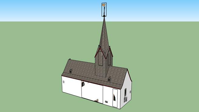 Die evangelische Kirche in Pohlheim-Hausen