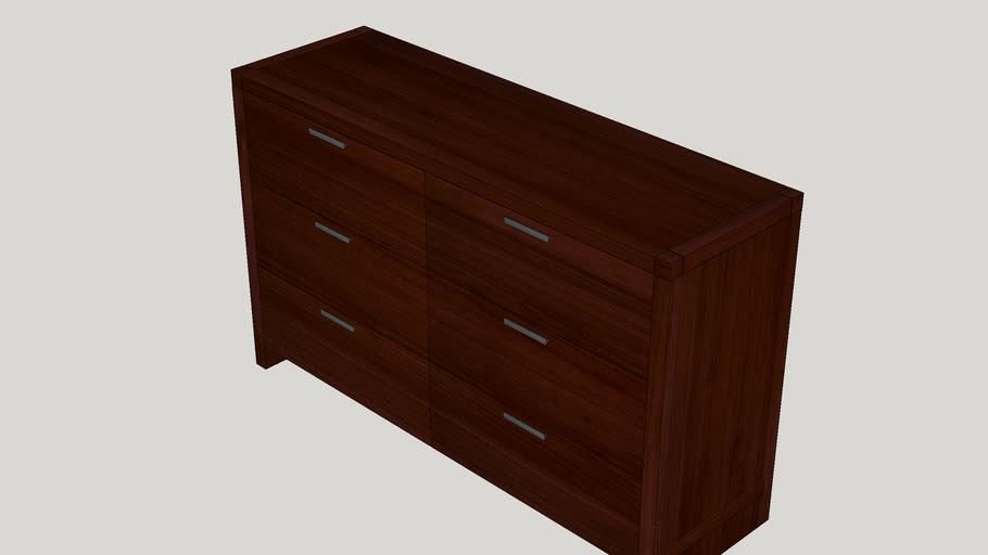 Capricorn 6 Drawer Dresser