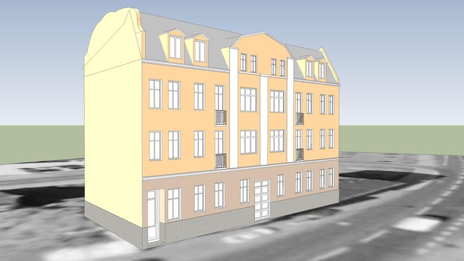 TENEMENT HOUSE ON 27 POZNANSKA STREET IN BYDGOSZCZ