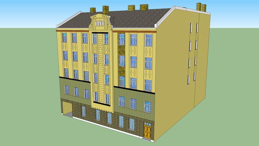 Dwelling house in Riga