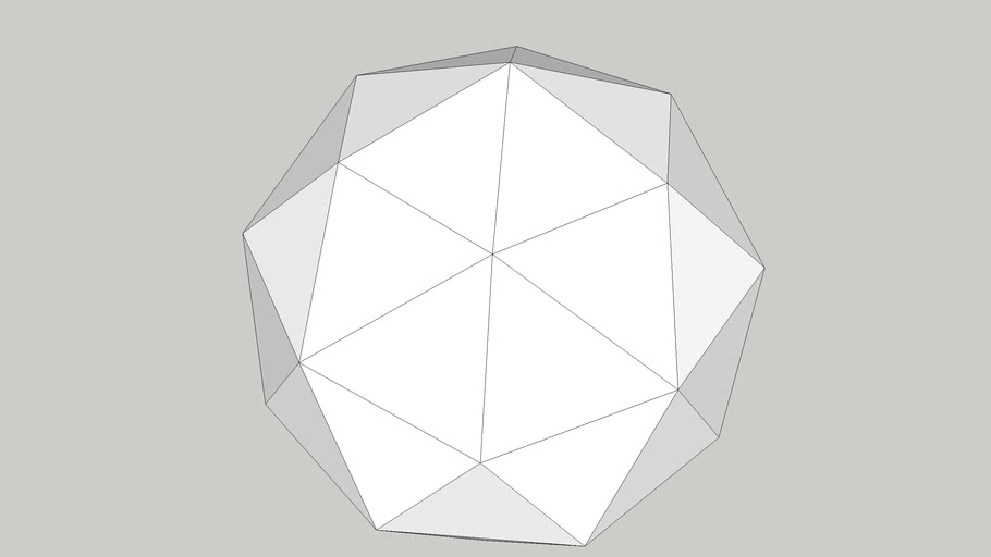 五角化12面體(Pentakis dodecahedron)