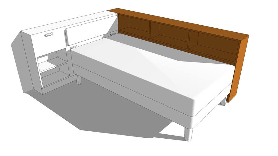 22 – Bedside Cabinet – Single Bed
