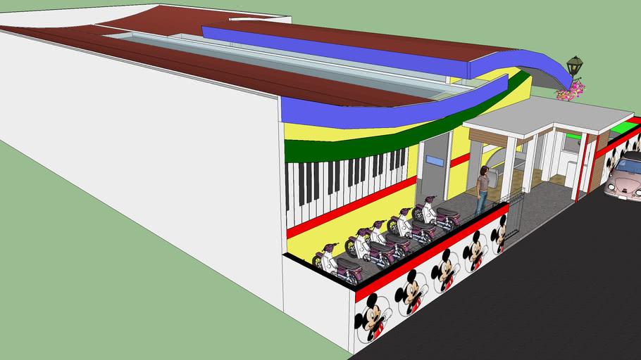 Site Plan Sekolahan