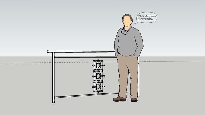 modern aluminum railings